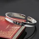 Direct manufacturers s999 Sterling Silver Bracelet female Bracelet wholesale opening six words